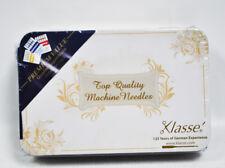 Klasse Needle Tin With 42 Assorted Sewing Machine Needles