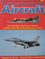 Encyclopedia of Aircraft Issue 206 Tupolev Tu-16 & Tu-104 cutaway drawing