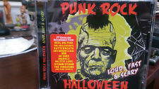 PUNK ROCK HALLOWEEN  Loud Fast & Scary CD 999 Subs Adolescents Dwarves Vibrators