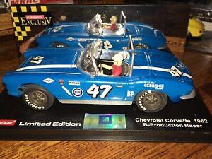Carrera ExclusiV 20490 Chevrolet Corvette 1962 B-Production Racer 1/24 Slot Car
