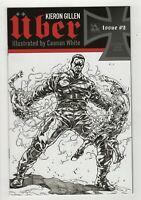 UBER # 2 (May 2013, Avatar Press) Caanan White Blitzkrieg Sketch Variant NM