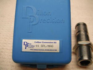 Dillon RL550 Caliber Conversion Kit 44 Mag/Spec with Thru Powder Die