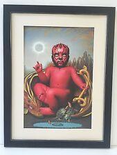 Framed Star Wars Art Print - 55cm By 42cm - Dawn Of Darth Maul