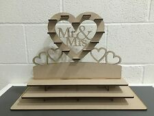 Y10 140 x Choc Mr & Mrs Ferrero Rocher Heart Tree Wedding Display Stand Centre
