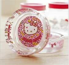 Hello Kitty Cute Small Glass Ashtray Cigarette Cigar Ashtray KK672