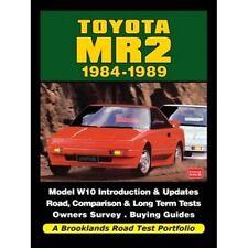 Toyota MR2 1984-1989 Road Test Portfolio book paper car
