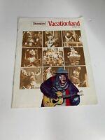 Disneyland Vacationland Summer 1972 - Theme Park Souvenir - Rare