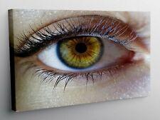 QUADRO MODERNO Stampa su tela Occhio Volto Colorato 30 FORME IT 2644