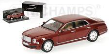 Minichamps - 2010 Bentley Mulsanne - Red Metallic - 1:43 #436 139901 NEW