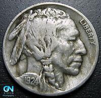 1924 D Buffalo Nickel  --  MAKE US AN OFFER!  #P5522