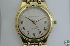 Audemars Piguet 18K automatic with original 18K bracelet 36mm diameter in box
