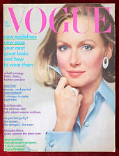 Vogue Magazine ~ July 1972 ~ Karen Graham, Samantha Jones Avedon