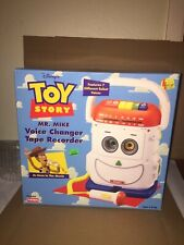 RARE Vintage Toy Story Mr. Mike Voice Changer Tape Recorder New Open Box