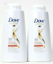 2 Ct Dove Nutritive Solutions 25.4 Oz Anti Frizz Almond Oil Therapy Conditioner