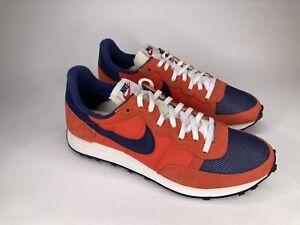 Nike Challenger OG Orange Navy Blue White Shoes CW7645 402 Men's Size 9