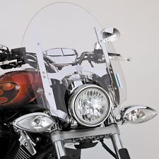 """YAMAHA STRYKER 22"""" TALL QUICK RELEASE CHROME TOURING WINDSHIELD 27D-F83J0-T0-00"""