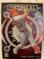 """2020 Donruss Optic Mike Trout SP """"Mythical"""" Refractor⚾️🔥Angeles 🐐 HOT"""