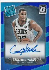 Guerschon Yabusele - 2017/18 Donruss Optic Basketball, (Autograph) Blue 3/49