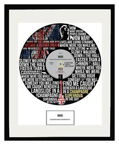 OASIS - MEMORABILIA - ART - Framed Poster Print - Limited Edition - Ideal Gift