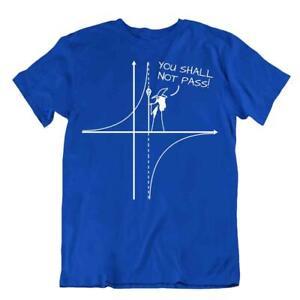 You Shall Not Pass T-Shirt Funny Math Joke Shirt Tee Geometry Tshirt