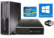 HP Compaq 8200 Elite Computer Intel i7 3.4GHz 8GB 1TB HDD Windows 10 Pro DVD-RW