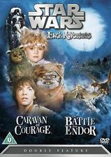 STAR WARS EWOK ADVENTURES CARAVAN OF COURAGE BATTLE FOR ENDOR DVD New Movie evok