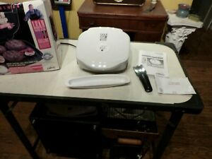 George Foreman Lean Mean Fat Grilling Machine GR18 WHITE T87