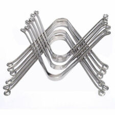 12 x Tongue Cleaner Stainless Steel Scraper High Quality Mouth Fresher Tooth!!!
