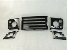 fit for Land Rover DEFENDER front headlamp grille cover mesh grill kit bar