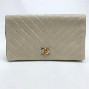 CHANEL Vintage Clutch Bag Pouch