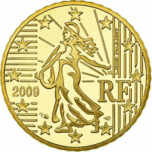 [#772057] France, 50 Euro Cent, 2009, BE, FDC, Laiton, KM:1412