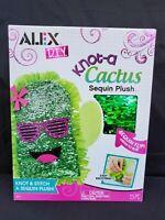 Alex DIY Craft Knot A Cactus DIY Sequin Plush - Craft Project Knot & Stitch Toy