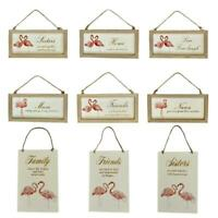 Wooden Home Signs Wall Decor Mum Mother Nana Sister Family Friends Sign Gift
