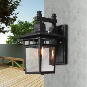 Vintage Outdoor Exterior Porch Light Sconce Lantern Garage Wall Lighting Fixture