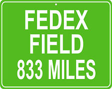 Washington Redskins Fedex Field in Landover, MD - distance to your house