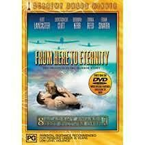 From Here to Eternity Burt Lancaster Classic DVD R4 BRAND NEW/SEALED
