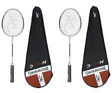 2x Browning NanoTec CTi 75 Carbon Badminton Rackets + 6 Carlton shuttle RRP £500