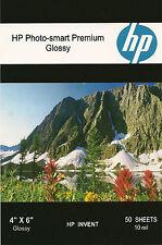 HP Photo-smart Premium 4 X 6 Gloss Photo Paper~1,000 ct~Borderless~WOW~COOL