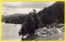 cpsm Rare Lorraine 88 - GERARDMER (Vosges) CAMPING du LIDO Lac Tentes Voitures