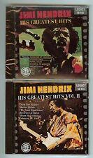 JIMI HENDRIX - HIS GREATEST HITS VOL. 1 &  VOL. 2 - (2 CDs) - NEW, SEALED