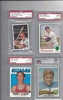 1971 Dell stamps vintage baseball Johnny Bench, Cincinnati Reds PSA 6 EXMT