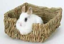 Rabbit Peters Pet Woven Grass Pet Supplies Bed Natural Bowl Grass Rabbit Cages