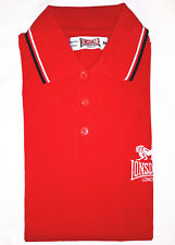 LONSDALE Polo Rouge UK Homme Taille M