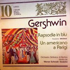 DISCO 33 GIRI I TESORI DELLA MUSICA CLASSICA - N. 10  GERSHWIN RAPSODIA IN BLU