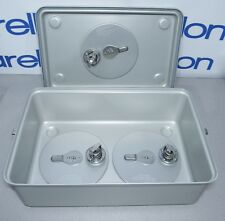 "Case Medical SC06QV-GV FlashTite Filterless Instrument Sterilization Case 6""H"