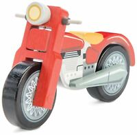 Le Toy Van CARS & CONSTRUCTION MOTORBIKE Wooden Toy BN