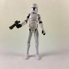 """Rare 3.75"""" Hasbro Star Wars The Clone Wars  No. 5 Clone Trooper Aciton Figure"""