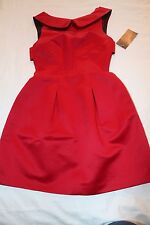 NEW Royal Red Dress ZARA size S  Party Special Occasions Wedding BNWT