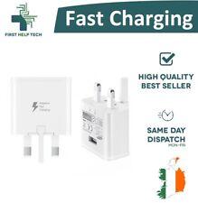 UK Samsung Fast Charging USB Plug Wall Charger Power Adapter EP-TA20UWE New