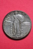 1927 P Standing Liberty Quarter Exact Coin Pictured Flat Rate Shipping OCE585